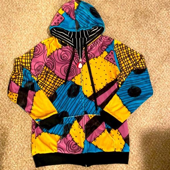 Disney Jack Skellington Sally reversible hoodie XL